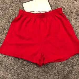Sofee Red Cheer/Athletic Shorts
